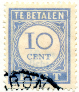 Postzegel 10 cent