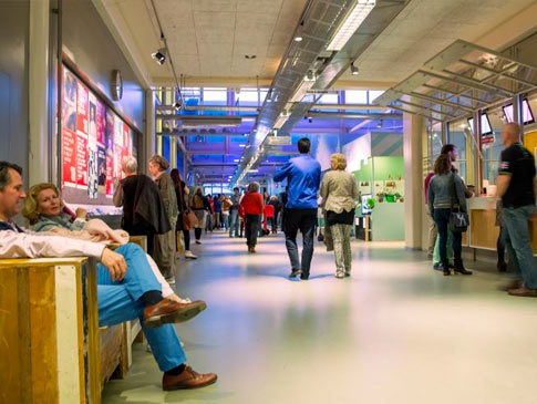 Interieur Verkadefabriek
