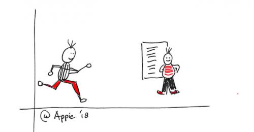 Over de planner en de renner (en hoe je ze aan het samenwerken krijgt)