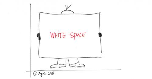 De kracht van 'White Space'