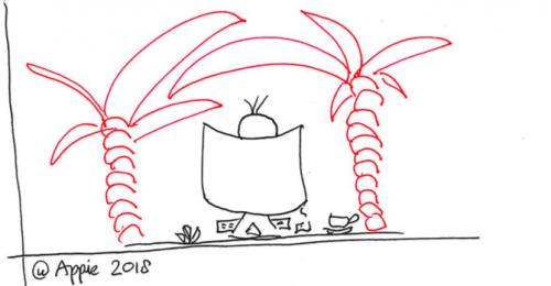 Kantoortuinen en aanpalend organisatieleed