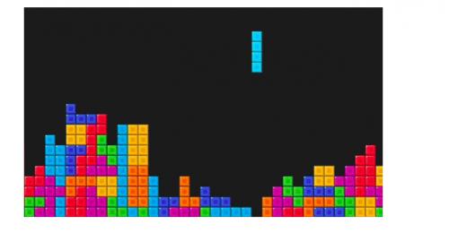 Agenda Tetris (geen leuk spel)